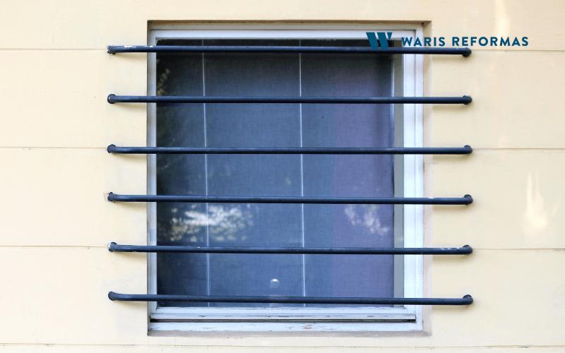 Materiales para las persianas de seguridad y rejas
