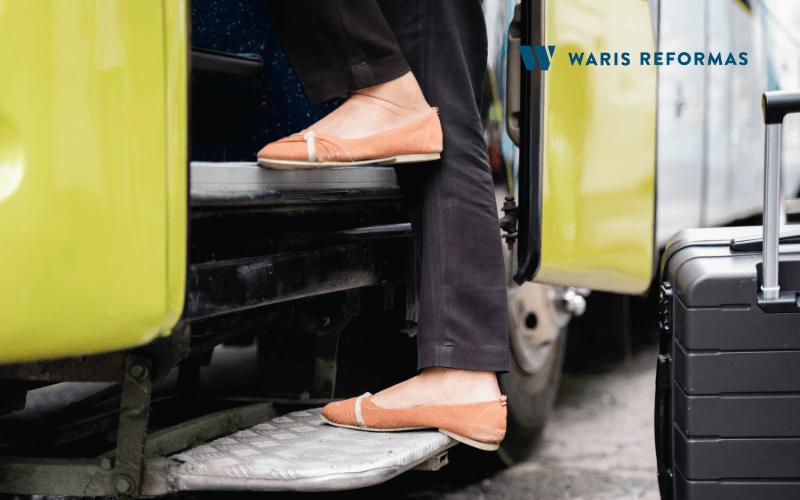 barreras de transporte para minusvalidos